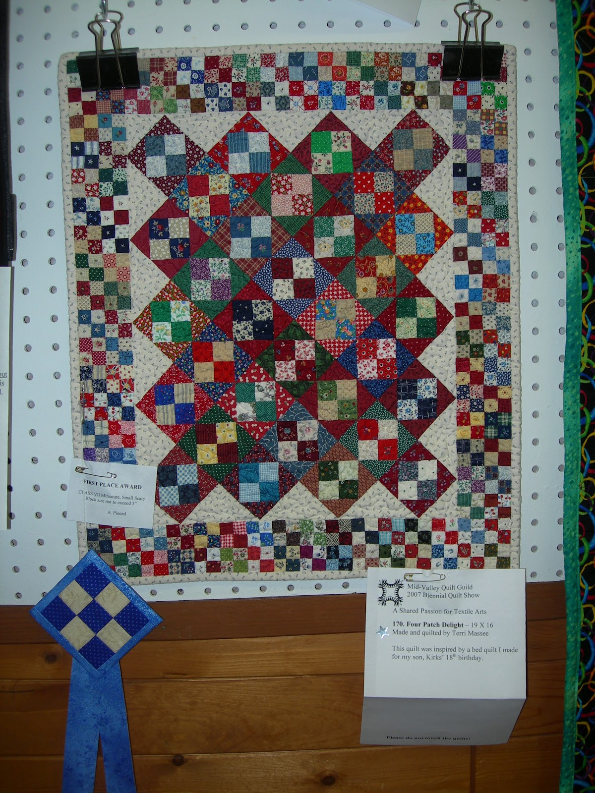 Michele Bilyeu Creates *With Heart and Hands*: Miniature Quilts! Plus: Free Miniature Quilt Patterns