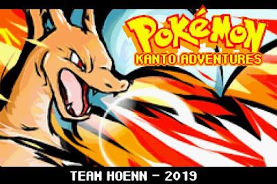 Pokemon Kanto Adventures GBA Completo en Español Portada