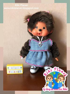 kiki monchhichi couture sewing vêtement clothes poupée doll handmade fait main