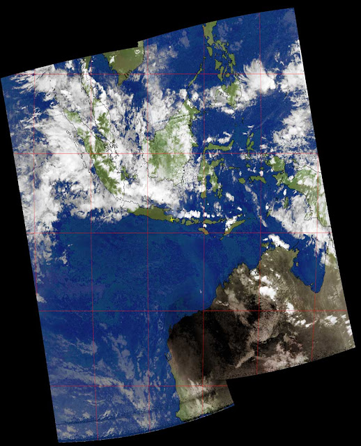 Composite image from NOAA-19