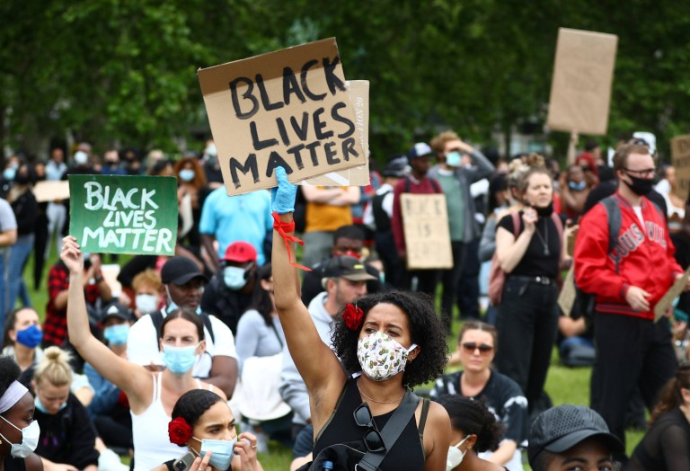 Black Lives Matter: Thousands protest at Hyde Park