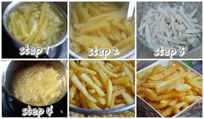 Resep Kentang Goreng Crispy KFC Renyah dan Gurih