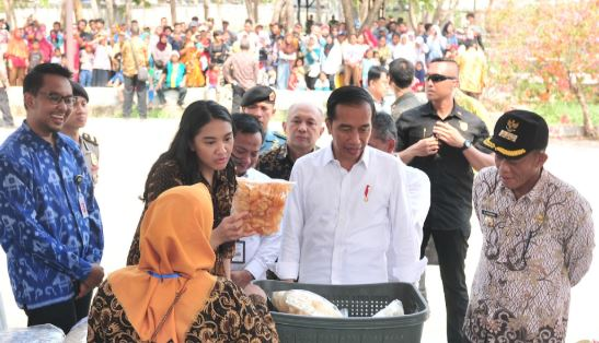 Presiden Jokowi Ingatkan Peserta Program Mekaar Gunakan Semua Pinjaman Untuk Modal Usaha
