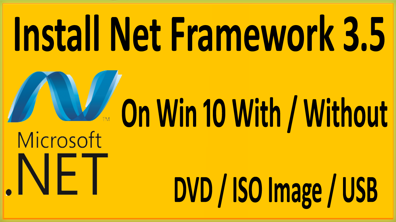 download net framework 3.5 windows 10 pro 64 bit