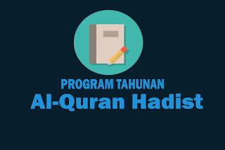Program Tahunan Mata Pelajaran Al-Quran Hadist Kelas X, Program Tahunan Mata Pelajaran Al-Quran Hadist Kelas XI dan Program Tahunan Mata Pelajaran Al-Quran Hadist Kelas XII. Download Prota Al-Quran Hadist SMA