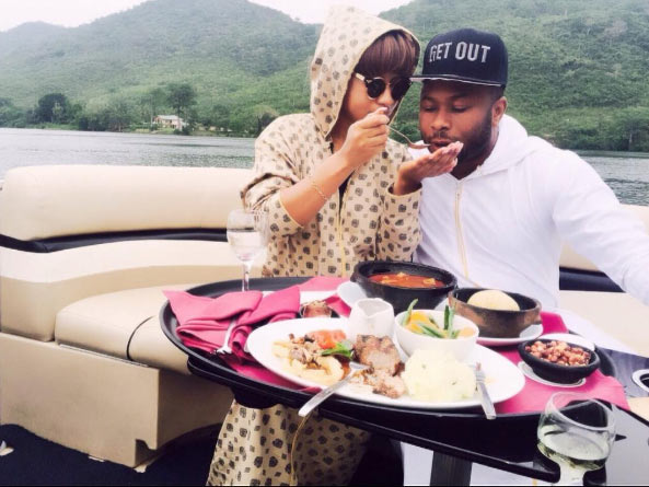 Tonto Dikeh shares romantic picture with her hubby before they got married