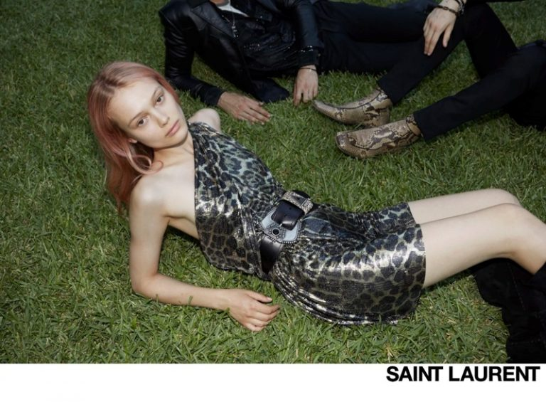 Saint Laurent Palermo Summer Nights Campaign