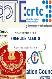 Free Job alerts in India,Government Job Notification in Free Job alerts,Apply Govt Job in India
