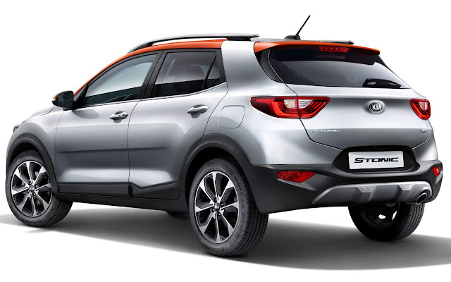 Kia Stonic - concorrente do Honda HR-V