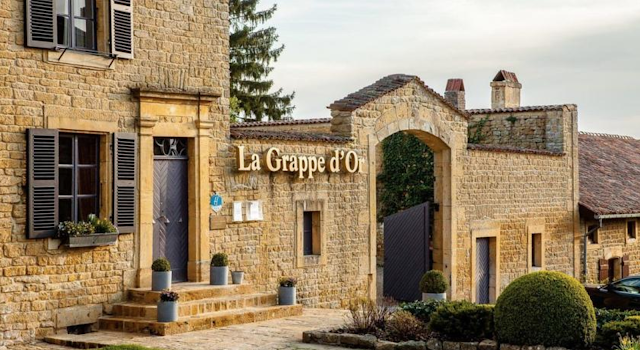La grappe d'or, restaurant, overnachting