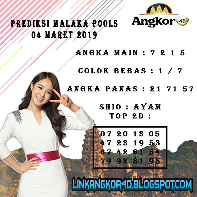 PREDIKSI MALAKA POOLS 04 MARET 2019
