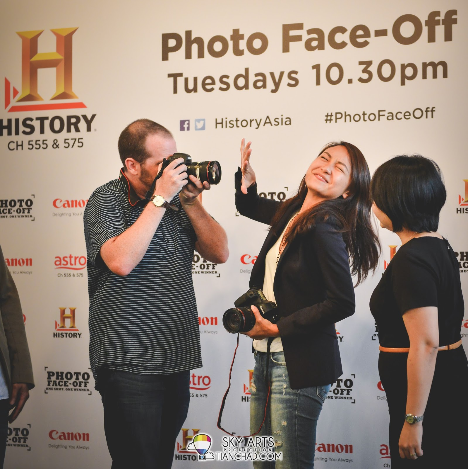 Photo Face-Off with Justin Mott and Christy Yeoh on HISTORY