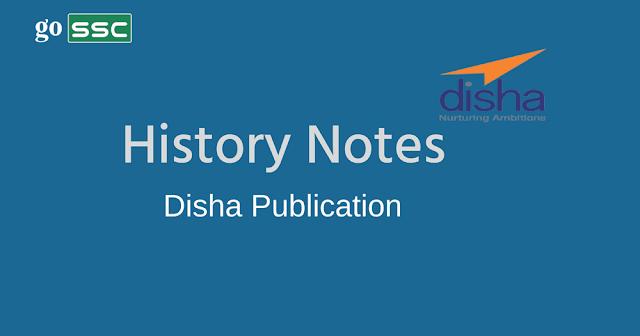 History Notes Disha