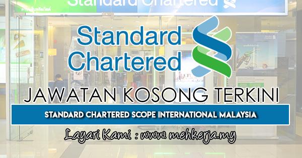Jawatan Kosong Terkini 2018 di Standard Chartered Bank