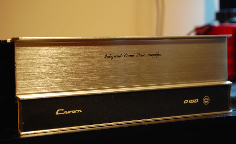 Crown D150 Power Amplifier : vintage hi fi audio restorations crown d 150 power amplifier ~ Vivirlamusica.com Haus und Dekorationen