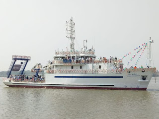 'Sagar Anveshika'- A Coastal Research Vessel