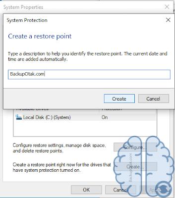 Cara Melakukan Backup System