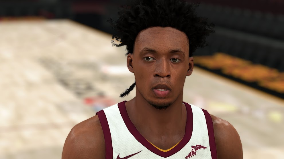 Collin Sexton Cyberface, Hair and Body Model By Hewei [FOR 2K21]