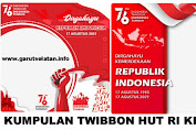Download 45 Twibbon HUT RI Ke-76 Tahun 2021 Lengkap