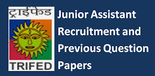TRIFED Junior Assistant Previous Question Papers and Syllabus 2019-20 Delhi