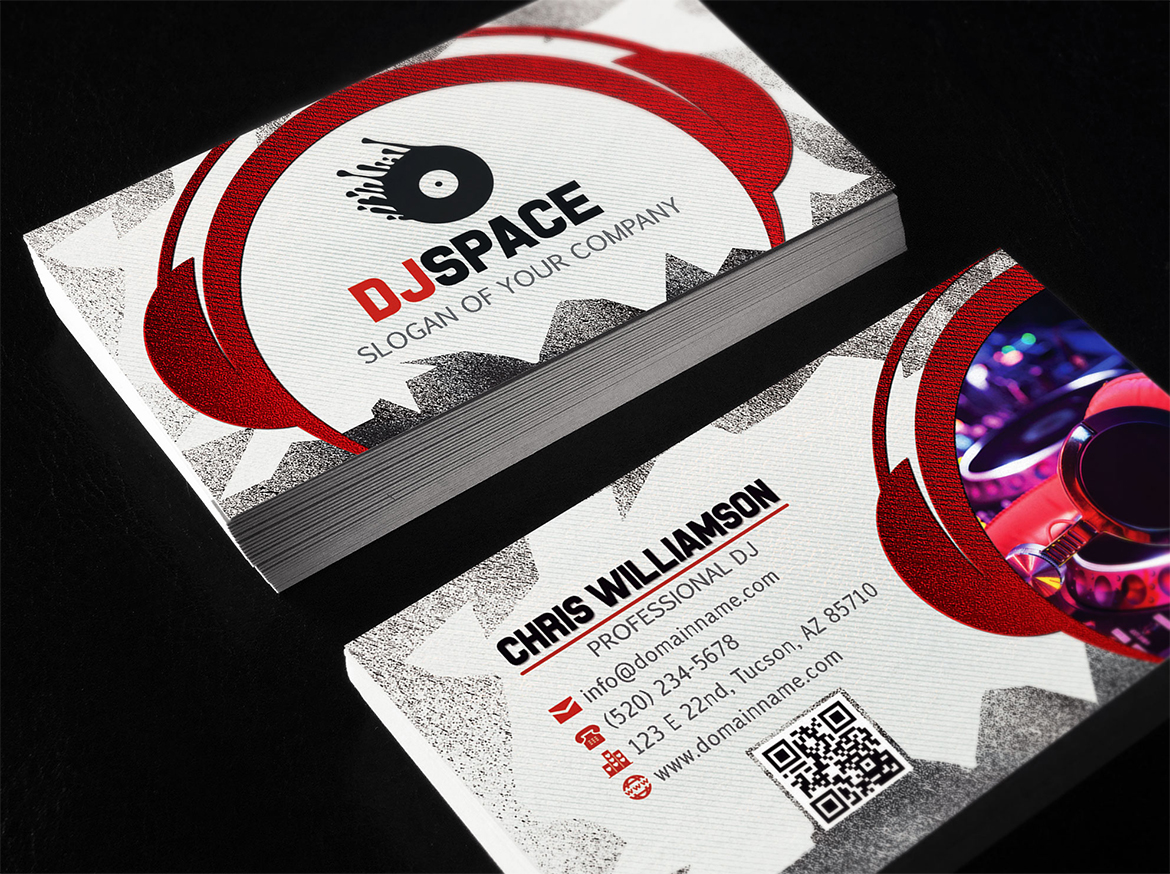 DJ Business Cards - Business Card Tips
