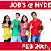 Jobs in hyderabad participate in the selection process