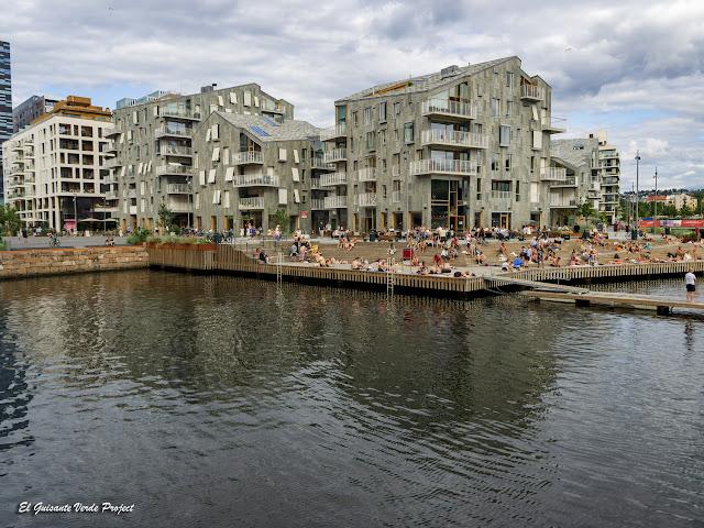 Sørenga, Oslo - Noruega, por El Guisante Verde Project