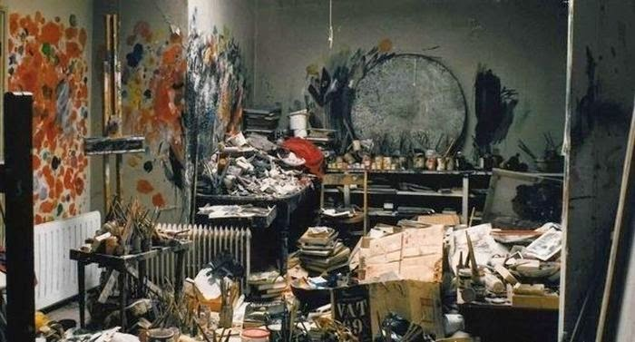 Workspaces Of The Greatest Artists Of The World (38 Pictures) - Francis Bacon, painter
