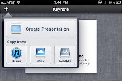 Keynote untuk iPhone