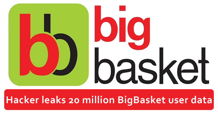 BigBasket Data Leak – Over 20 Million Personal Records Published on Hacking Forum