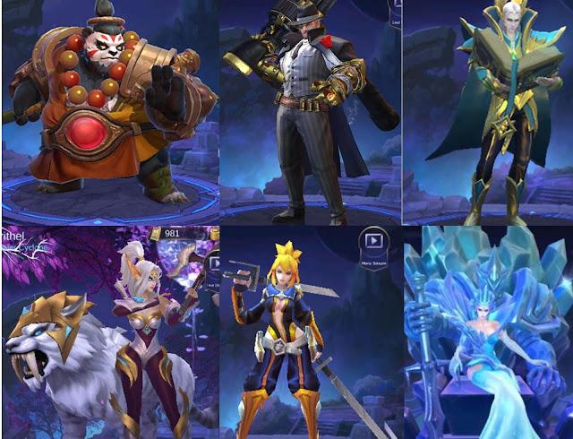 Hero terbaik dan terkuat di Game Mobile Legends di setiap Role