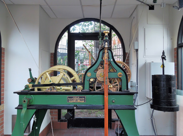 Seth Thomas Clockwork at Friedman Clock Tower