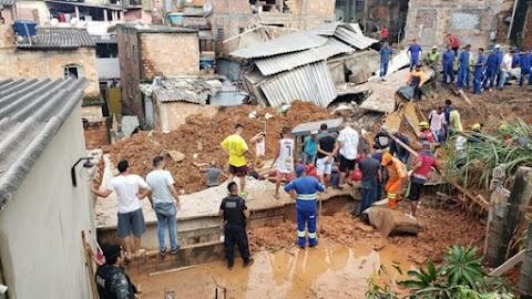 Número de mortes por causa das chuvas em Minas Gerais vai para 30