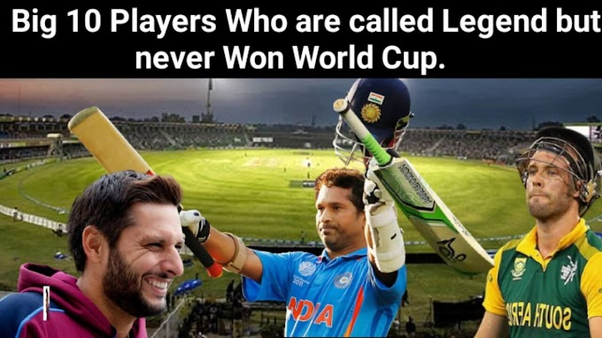 The Big 10 Players Who are Called Brilliant  but Never Won the World Cup - Top 10 Legend Cricketer Players  - Top Cricket Batsman Players