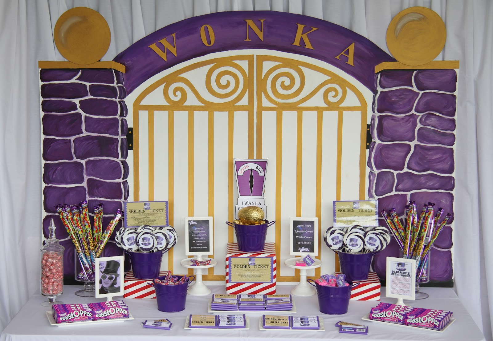 Leonie's Cakes and Parties . . . . .: WONKA Golden Ticket ...