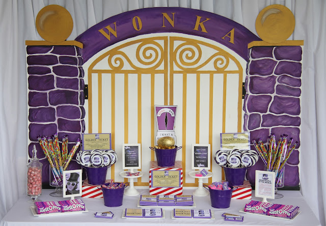 Leonie S Cakes And Parties Wonka Golden Ticket
