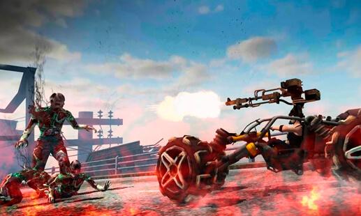 Drive Die Repeat: لعبة الزومبي