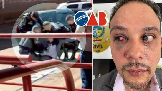 advogado socos policial ameacado morte oab