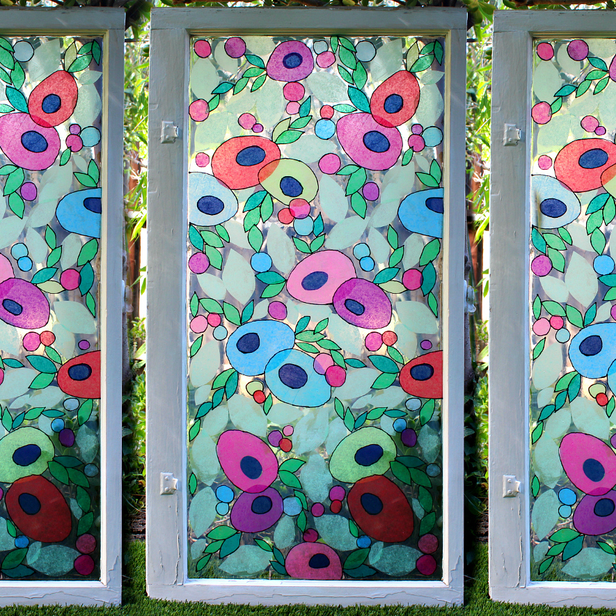 Mark Montano Faux Stained Glass