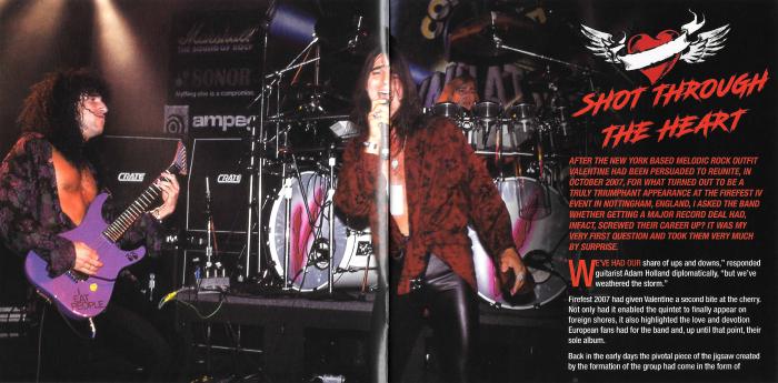 VALENTINE - Valentine [Rock Candy remaster] (2017) booklet