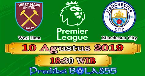 Prediksi Bola855 West Ham vs Manchester City 10 Agustus 2019