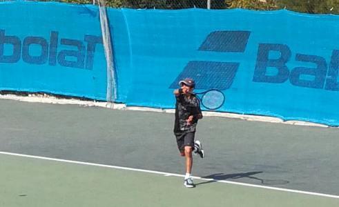 2η θέση για τον Γιάννη Κουρουνιώτη στο Πανελλαδικό Πρωτάθλημα τένις κάτω των 10 ετών