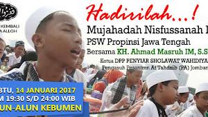 Mujahadah Nisfussanah Ke-35 PSW Propinsi Jawa Tengah