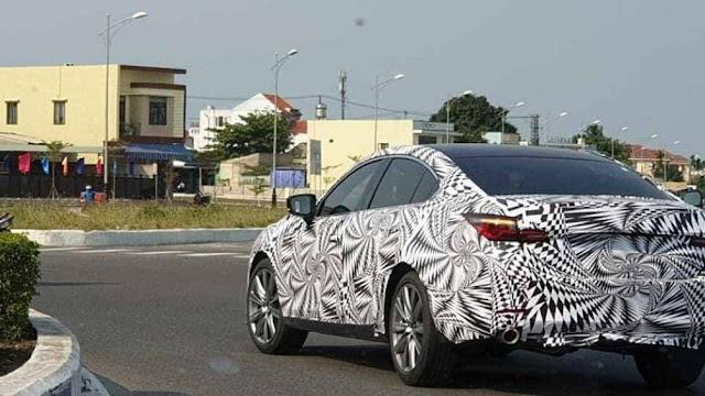 Hình ảnh được cho là phiên bản mới của Mazda6 2020 chạy thử tại Quảng Nam.