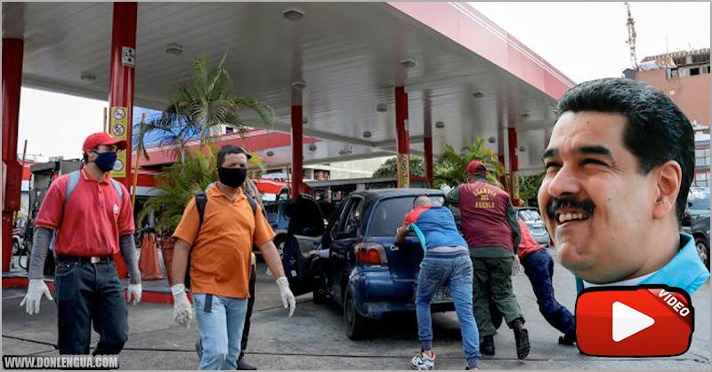 Venezuela | Sueldo Mínimo 4,50$ y un litro de gasolina 0,50$ | Maduro robando