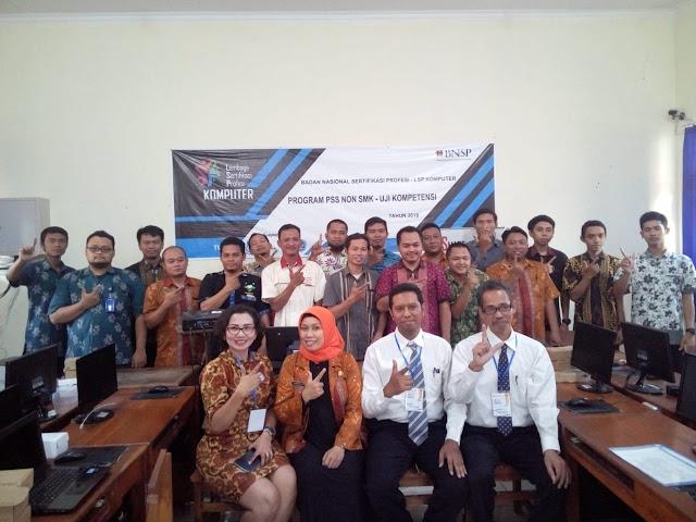 Uji Kompetensi Network Administrator Madya di SMKN 1 Purwodadi