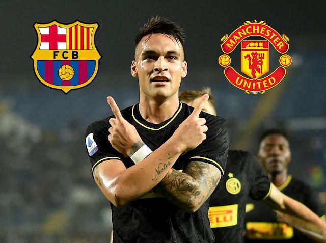 Manchester United Ingin Bajak Lautaro Martinez