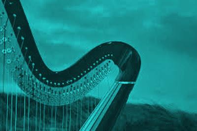 La poésie de la harpe, bleu marin
