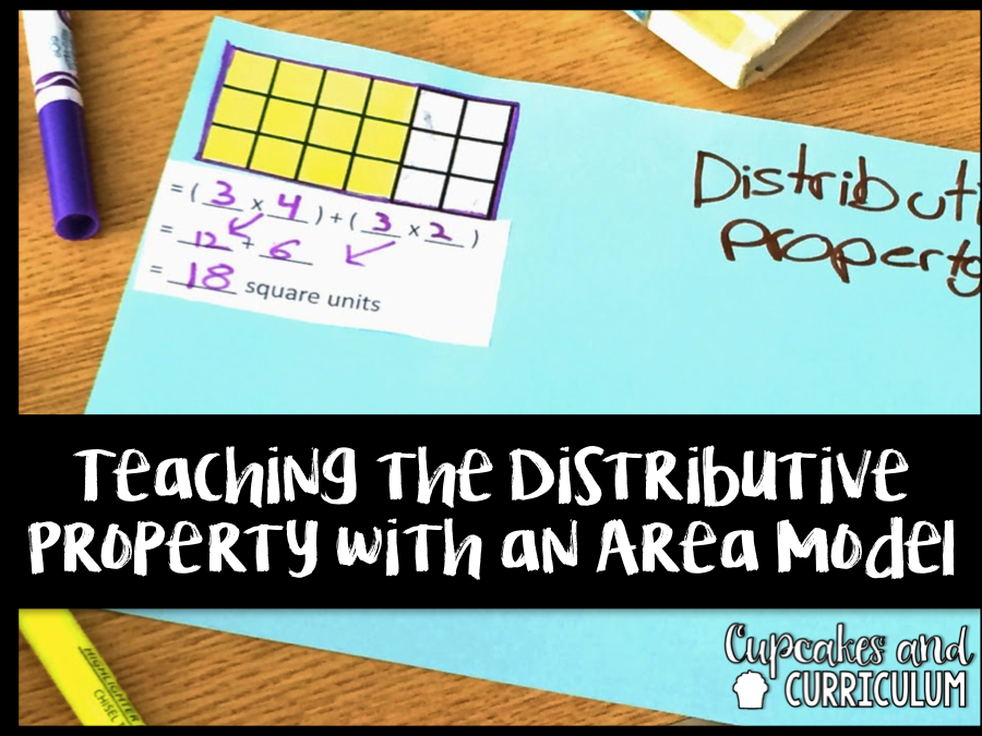Cupcakes & Curriculum: Teaching Distributive Property Using ...