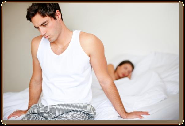 Disfunctiile sexuale masculine cauzeaza probleme de cuplu si depresie